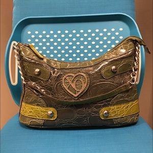 Xoxo Luxury Icon Green Combo Handbag